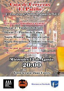 """Pa' Las Birras: Cata de Cervezas en """"El Palillo"""""""