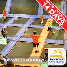 Only 14 days until Sky Zone Van Nuys opens! Ready to play ultimate dodgeball?! #skyzonevannuys #skyzone #fun #jump #vannuys #california #igers #bounce #kids #teenagers #trampoline #love #picoftheday #sky #me #cute  #play #fitness #health #foampit #exercise #openjump #gymnastics #jumphigh #tumbling #workout #fit #fitness #trampoline #birthdayparty 7741 Havenhurst Ave, Van Nuys, CA. (951) 354-0001