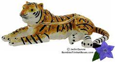 Trinket Box: Tiger Lying DownTrinket Box