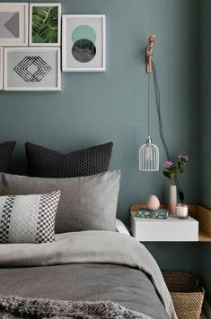 Schlafzimmer Dekorationen in der modernen Einrichtung dezent einsetzen