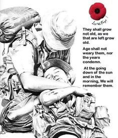 They shall not grow old.