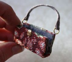 Make a Miniature 1/12th Scale Dolls House Travelling Bag - Edwardian Projects - Dolls House & Miniature Scene - Hobbies And Crafts
