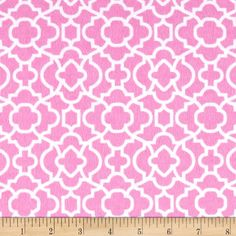 Flannel Bella Trellis Pink from @fabricdotcom  For David Textiles, this flannel…