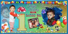 Birthday Background Design, Birthday Banner Design, Happy Birthday Template, Birthday Invitations Kids, Free Photoshop, Photoshop Design, Banner Background Images, Invitation Background, Flex Banner Design
