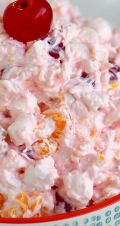 Ambrosia Salad ~ So easy to make and always a big hit with kids and adults alike