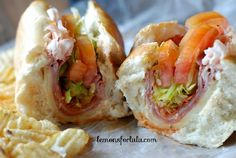 Spicy Italian Subs - Make the perfect sub sandwich at home! by @Tanya Schroeder @lemonsforlulu.com (Sandwich Recipes Subway)