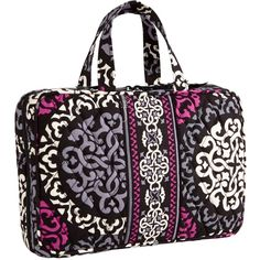 Vera Bradley Medium Hanging Travel Organizer in Canterberry Magenta ($21) ❤ liked on Polyvore featuring bags, canterberry magenta, colors, midnight blues and now trending