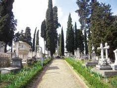"""""""Cimitero Degli Inglesi"""" in Florence, Italy"""