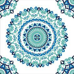 Jasmine Medallion Peel and Stick Wallpaper by NuWallpaper