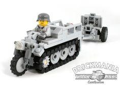 Đồ chơi Brickmania BKM10011 – Bộ xích xe tăng (x100 mắt xích, màu đen)