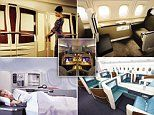 The best First Class airline seats in the world revealed Best First Class Airline, Flying First Class, Better One, Travel News, Cabin, World, Cabins, Cottage, The World