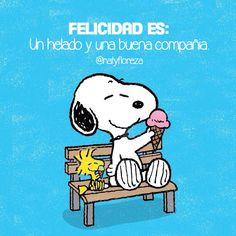 Felicidad es un buen helado y una buena compañía! ❤️ #natyfloreza