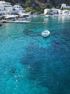 Amazing clear water - Loutro, Crete Follow me for more of this!