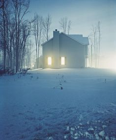 Todd Hido, House Hunting series #2423-A, 1999.