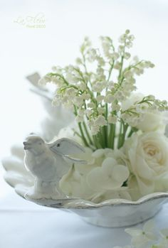 Lovely white arrangement