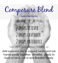 Composure Blend with Essential Oils  www.onedoterracommunity.com   https://www.facebook.com/#!/OneDoterraCommunity