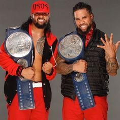 New Smackdown Tag Team Champions The Usos October 8, 2017