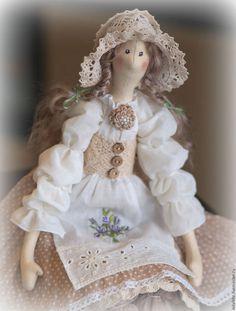 Куклы Тильды ручной работы. Катрин. Лейла Ханова. Ярмарка Мастеров. Кукла в подарок, тильда ангел, подарок на 8 марта