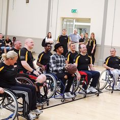 I had such an amazing time visiting with @invictuslondon this week! Can't wait for our rematch! #invictusgames