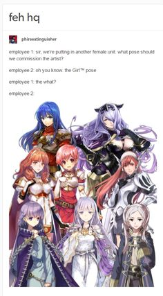 The Lady Pose (Fire Emblem Heroes)