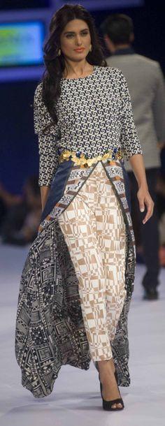 Sania Maskatiya Collection at PFDC Sunsilk Fashion Week 2014 Day 1