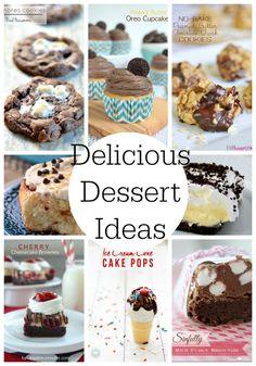 20 Delicious Dessert Ideas featured on iheartnaptime.com