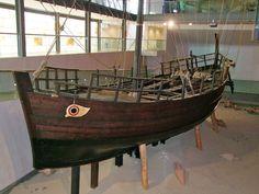 Reconstruction of the 4th c. BCE Kyrenia ship, Thalassa Museum, Ayia Napa, Cyprus