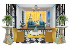 Blue's Yellow by kelski | Olioboard