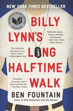 43 best books images on pinterest books graphic design books and billy lynns long halftime walk by ben fountain fandeluxe Choice Image