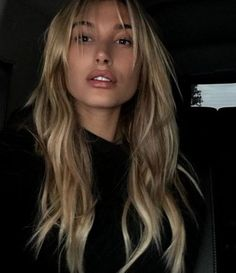 of the most beautiful long hairstyles with bangs 2017 . - 57 of the most beautiful long hairstyles with bangs 2017 … of the most beautiful long hairstyles with bangs 2017 . - 57 of the most beautiful long hairstyles with bangs 2017 … . Onbre Hair, Wavy Hair, Blonde Hair Bangs, Blonde Fringe, Thick Hair, Blonde Straight Hair, Balayage Straight, Blonde Waves, Straight Bob
