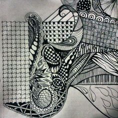 #zentangle #doodle #drawing #notes #patterns