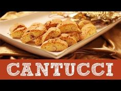 Ricetta Tozzetti   Cantucci   Cantuccini   Dolci per Natale   Le Video Ricette di Andre