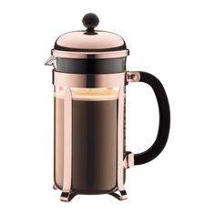Bodum - Chambord Original Copper Coffee Plunger 8 Cup | Peter's of Kensington