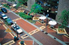 LandscapeOnline.com :: Article : Pedestrian Streetscapes
