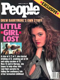 Drew Barrymore on People