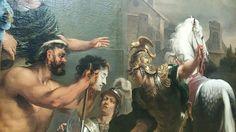 Consul Titus Manlius Torquatus Orders beheading of his son - Ferdinand Bol (1661-1664) @rijksmuseum
