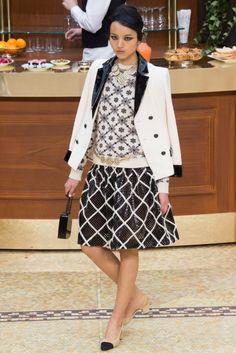 PFW Runway Report: Chanel Fall 2015 via OliviaPalermo.com