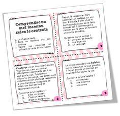 Atelier de lecture dirigé : les stratégies de lecture - La classe de Cécile