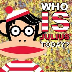 Who is Julius today? Gary Baseman, Paul Frank, Monkey Business, Art Clipart, Paint Shop, Consumer Products, Textile Patterns, Pattern Wallpaper, Graphic Art