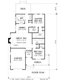 First Floor Plan Of The Jamison