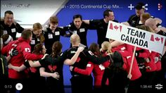 Team Canada at 2015 continental cup