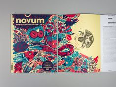 novum 03.15 »illustration« on Behance