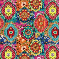 #colourful #prints #fabrics #inspiration #ideas