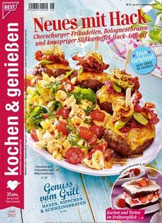 #Cheeseburger-Frikadellen, #Bolognese-Braten & knuspriger #Süßkartoffel-Hack-#Auflauf  Jetzt in #kochen & genießen:
