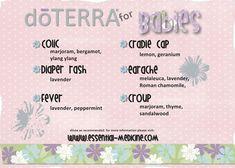 DoTERRA for babies www.mydoterra.com/lillyflower