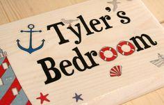 personalised boys door signs http://www.gemmajanedesigns.co.uk