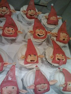 Edible Rise of the Guardian Party Elves Cupcake by GHConfections, $30.00