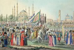 THE EID PROCESSION IN OTTOMAN EMPIRE  OSMANLI'DA BAYRAM ALAYI