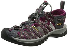 KEEN Womens Whisper Sandal MagnetSangria 8 M US >>> This is an Amazon Affiliate link. Read more at the image link.