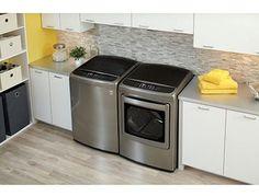 1.LG PAIR SPECIAL-Mega Capacity High Efficiency Top-Load Laundry